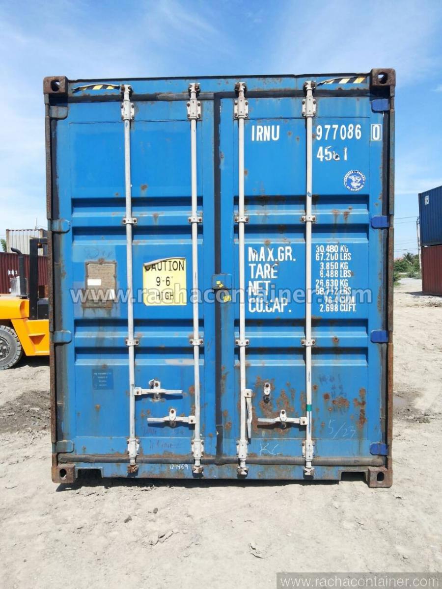 ตู้คอนเทนเนอร์ มือสอง 40'HC ขนาด 2.5x12x2.9
